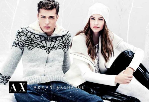 115 Armani Exchange: Zimska zemlja čuda