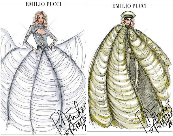 162 Modni zalogaj: Rita Ora na turneji nastupa u kreacijama brenda Pucci