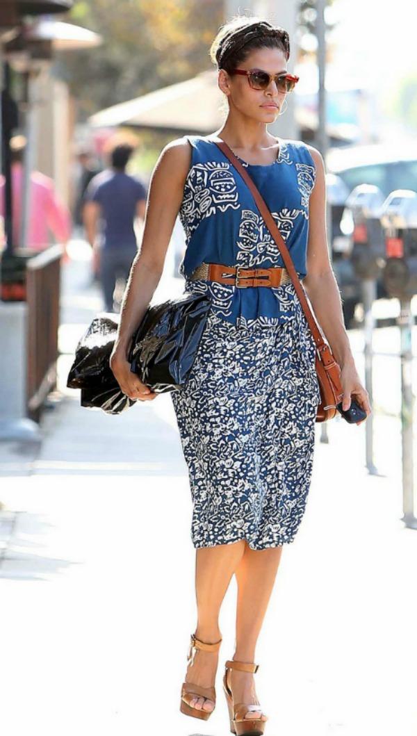 212 10 odevnih kombinacija: Eva Mendes