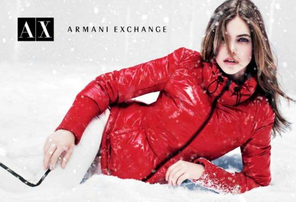 214 Armani Exchange: Zimska zemlja čuda