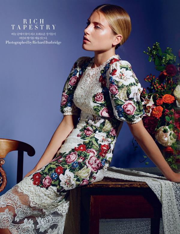 "229 ""Harper's Bazaar Korea"": Barokna ljubav"