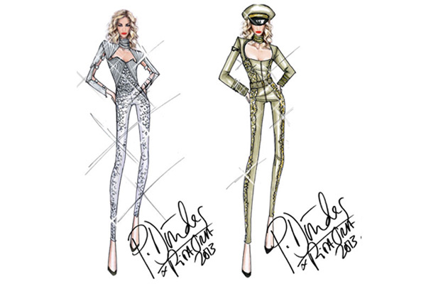 246 Modni zalogaj: Rita Ora na turneji nastupa u kreacijama brenda Pucci