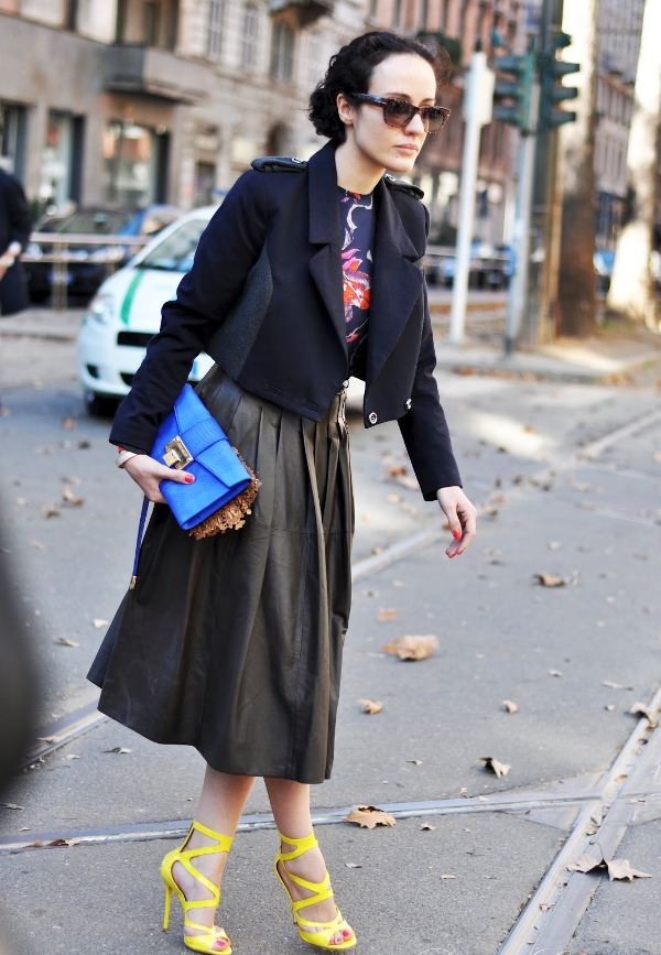 3.3 Street Style: Valentina di Pinto