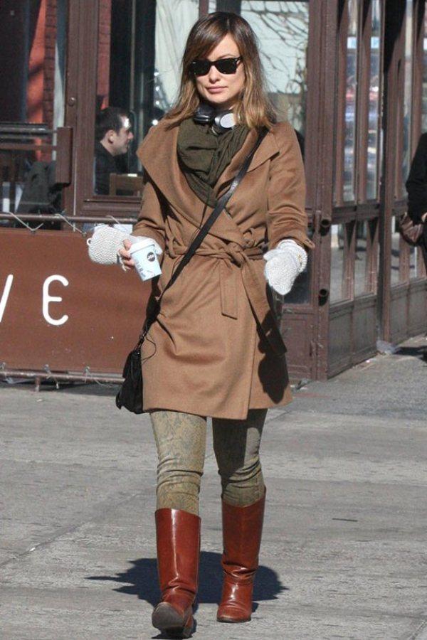 4.12 Street Style: Olivia Wilde