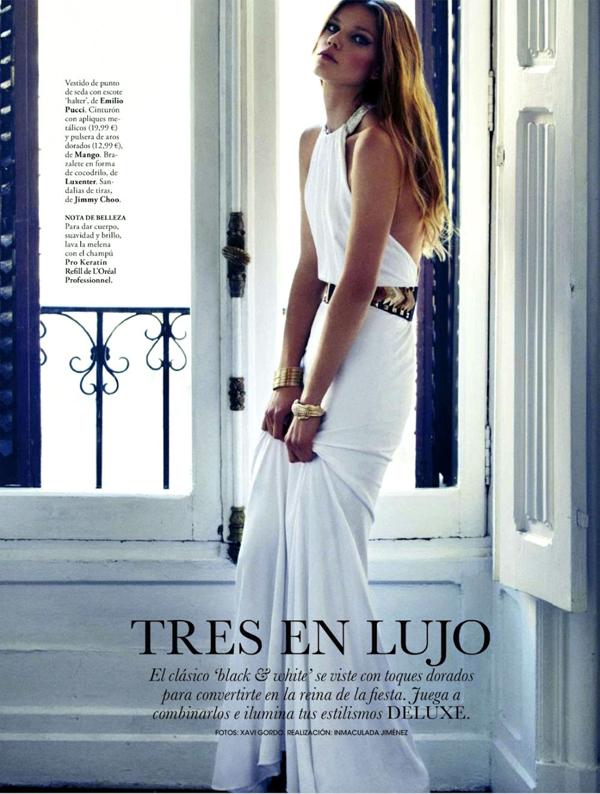 "4 ""Elle Spain"": Prelepa Masha"