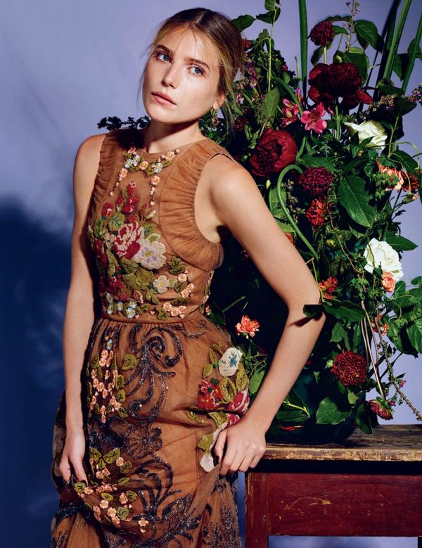 "520 ""Harper's Bazaar Korea"": Barokna ljubav"