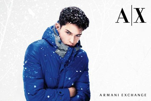 58 Armani Exchange: Zimska zemlja čuda