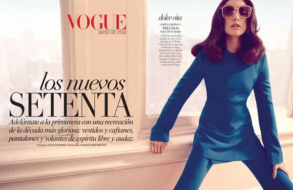 "59 ""Vogue Latin America"": Retro stil"
