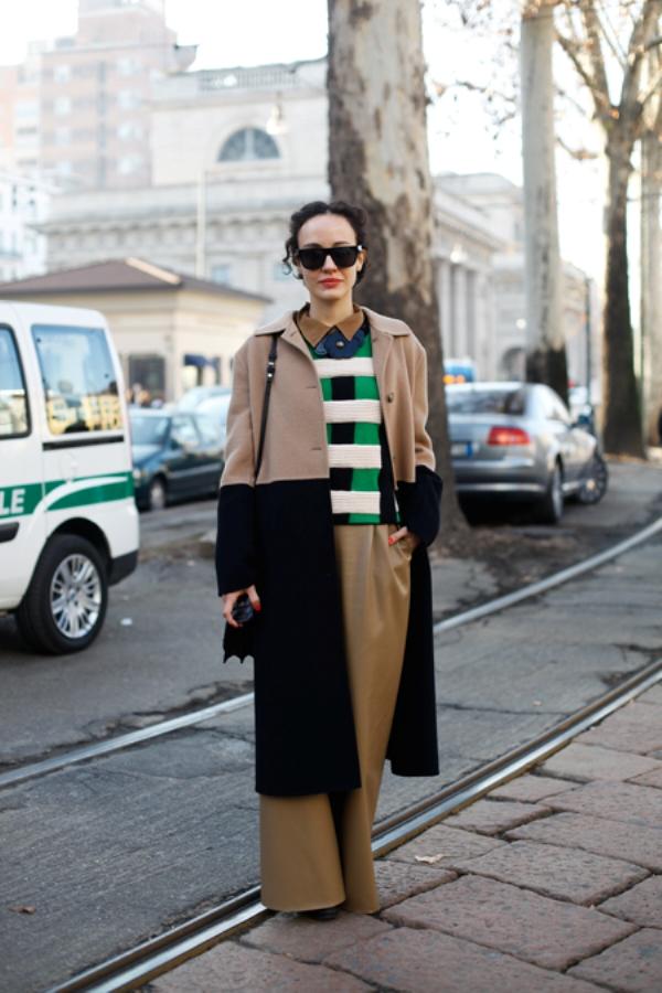 6.1 Street Style: Valentina di Pinto