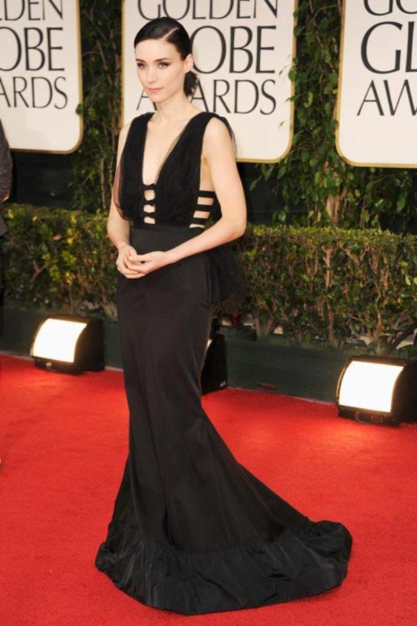 7. 10 haljina: Rooney Mara