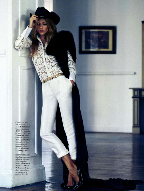 "7 ""Elle Spain"": Prelepa Masha"