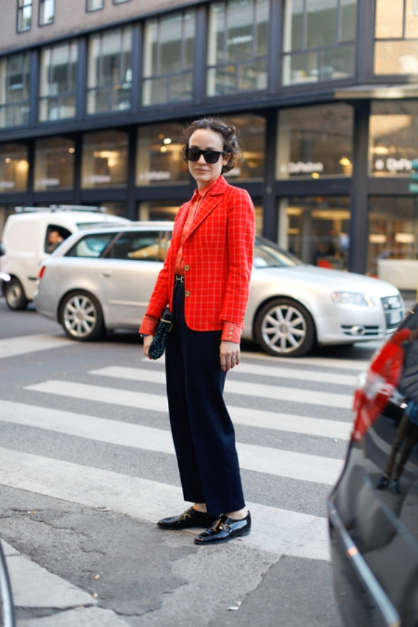 8. Street Style: Valentina di Pinto