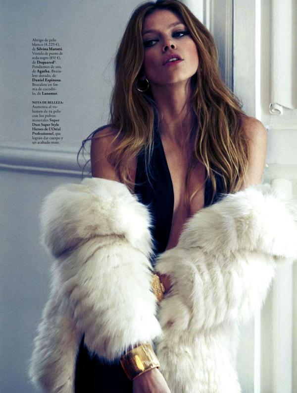"8 ""Elle Spain"": Prelepa Masha"