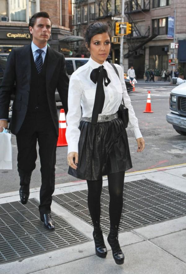 9.15 Sve modne hrabrosti: Kourtney Kardashian