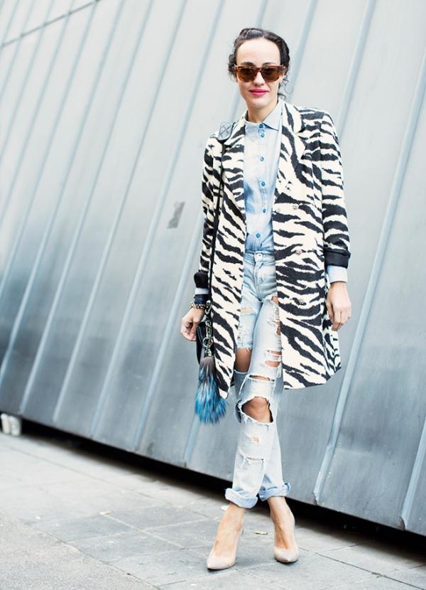 9.3 Street Style: Valentina di Pinto