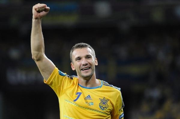 Andriy Shevchenko Sportski penzioneri 2012. godine