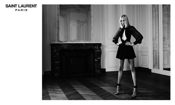 Anja Rubik Saint Laurent 2 Saint Laurent: Anja Rubik kakvu volimo