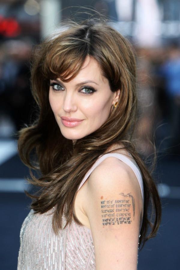 SLIKA 111 Stil šminkanja: Angelina Jolie