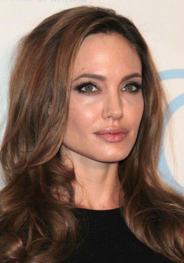 SLIKA 31 Stil šminkanja: Angelina Jolie