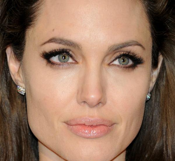 SLIKA 71 Stil šminkanja: Angelina Jolie