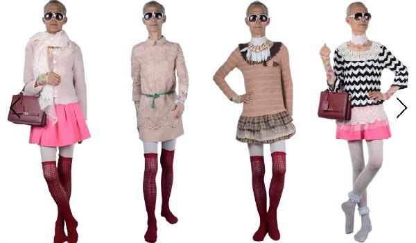Slika 1106 Modni zalogaj: Deka reklamira odeću za tinejdžerke