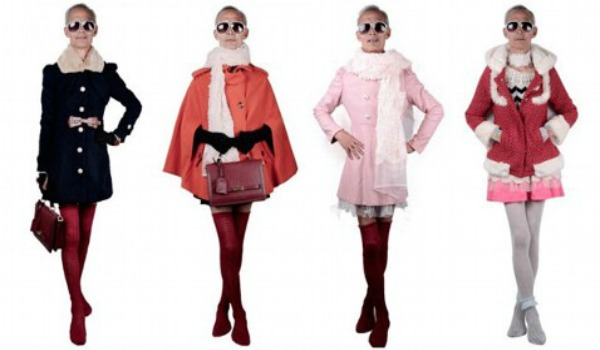 Slika 276 Modni zalogaj: Deka reklamira odeću za tinejdžerke