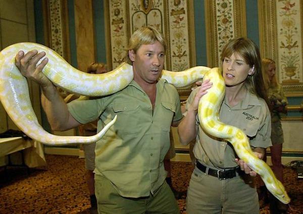 Slika 521 Ljudi koji su pomerali granice: Steve Irwin