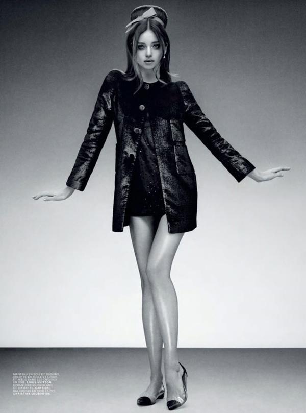 Slika 544 Jalouse Magazine: Retro glamur