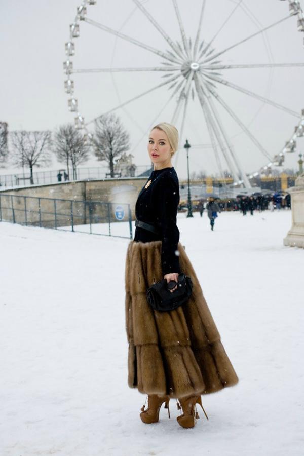 Slika 6.5 Street Style: Nedelja mode u Parizu