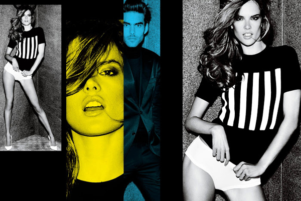 VTestino Fashiontography 2 V Magazine: Seksi modeli