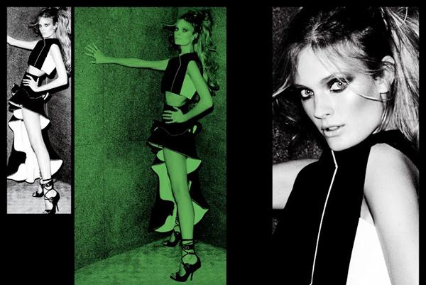 VTestino Fashiontography 4 V Magazine: Seksi modeli