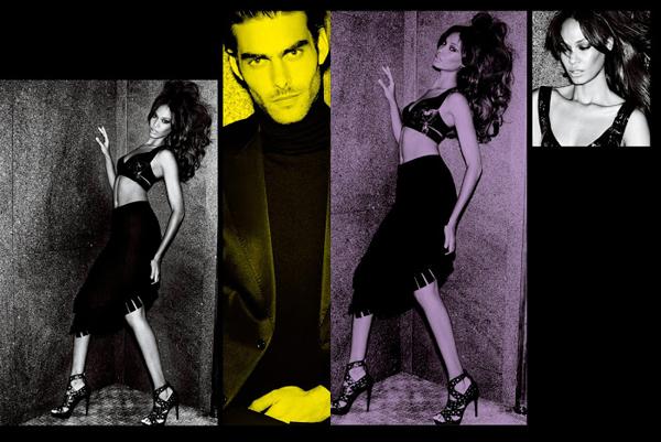 VTestino Fashiontography 5 V Magazine: Seksi modeli
