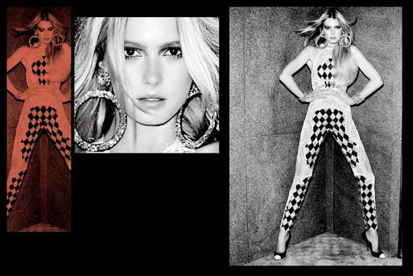 VTestino Fashiontography 7 V Magazine: Seksi modeli
