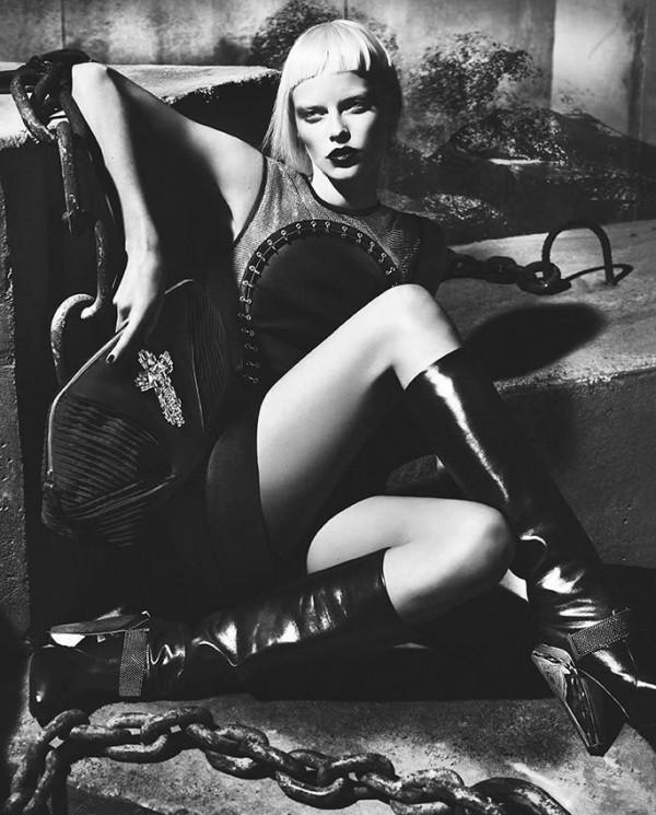 Versace Fall Winter 2012 2013 Womens Full Campaign 11 600x745 Versace: Italijanski glamur