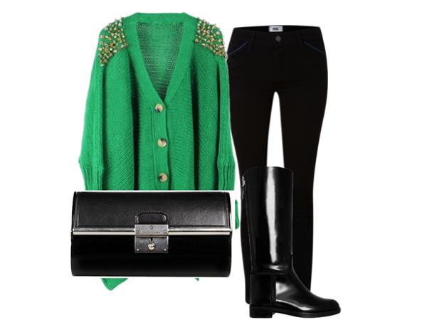 bb1 Look of the Day: Zeleno, volim te