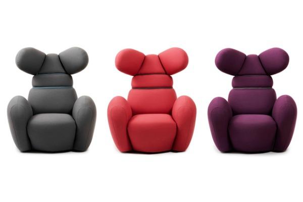 bunny chair by normann copenhagen 1 Da Vinci XXI: Papirna umetnost i životinjski nameštaj