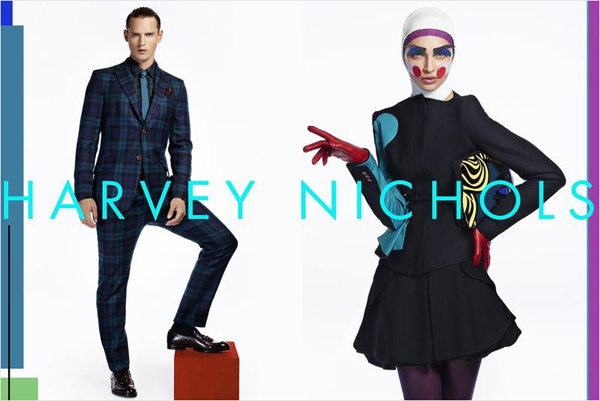 harvey nichols fall winter 2012 13 cuneyt akeroglu 02 Harvey Nichols: Modna čarolija