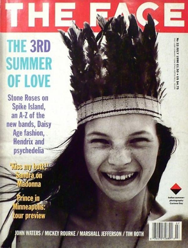 http jux user files prod.s3.amazonaws.com 2012 08 21 11 34 27 524 The Face Cover Kate Moss by Corinne Day e1326810400856 Moda na naslovnici: Prva naslovnica Kate Moss