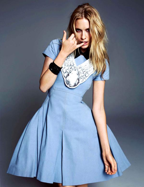 """poppy delevingne 2 """"Harper's Bazaar Korea"""": Razigrana Poppy"""