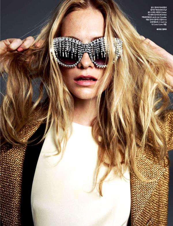 """poppy delevingne 4 """"Harper's Bazaar Korea"""": Razigrana Poppy"""