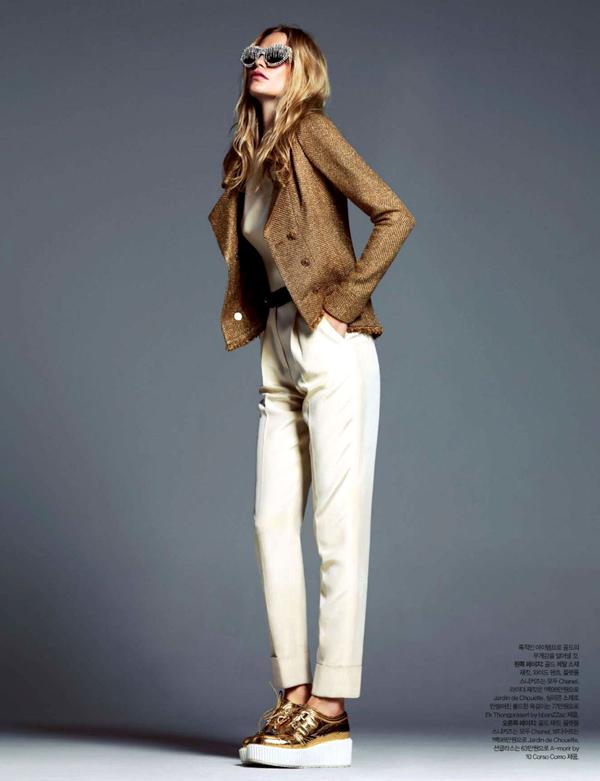 """poppy delevingne 5 """"Harper's Bazaar Korea"""": Razigrana Poppy"""