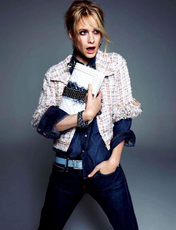 """poppy delevingne 6 """"Harper's Bazaar Korea"""": Razigrana Poppy"""