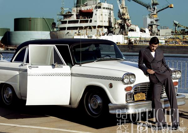 sean opry lofficiel hommes china 02 LOfficiel Hommes China: Ko je za vožnju?