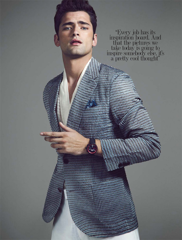 sean opry renie saliba august man 03 Sean OPry za August Man Malaysia