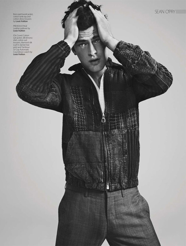 sean opry renie saliba august man 05 Sean OPry za August Man Malaysia