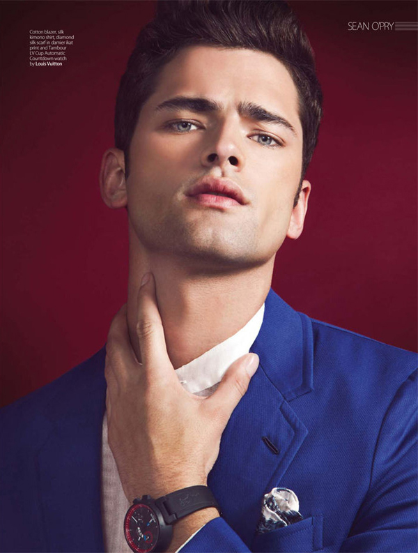 sean opry renie saliba august man 10 Sean OPry za August Man Malaysia