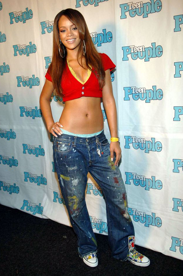 slika 112 Zvezdani preobražaji: Rihanna