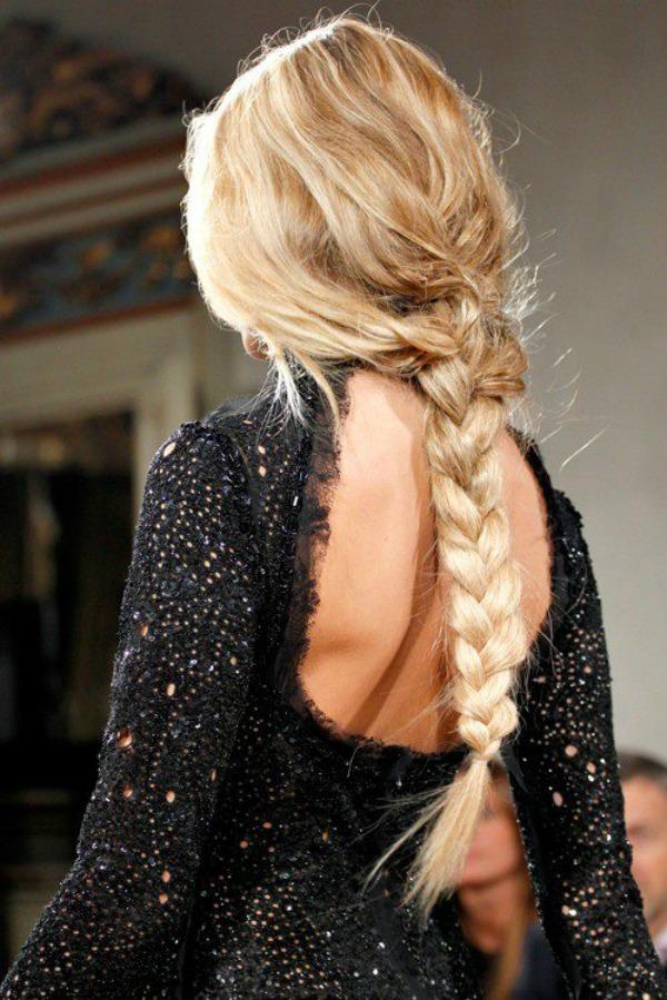 slika 139 Pet jednostavnih frizura za dugu kosu