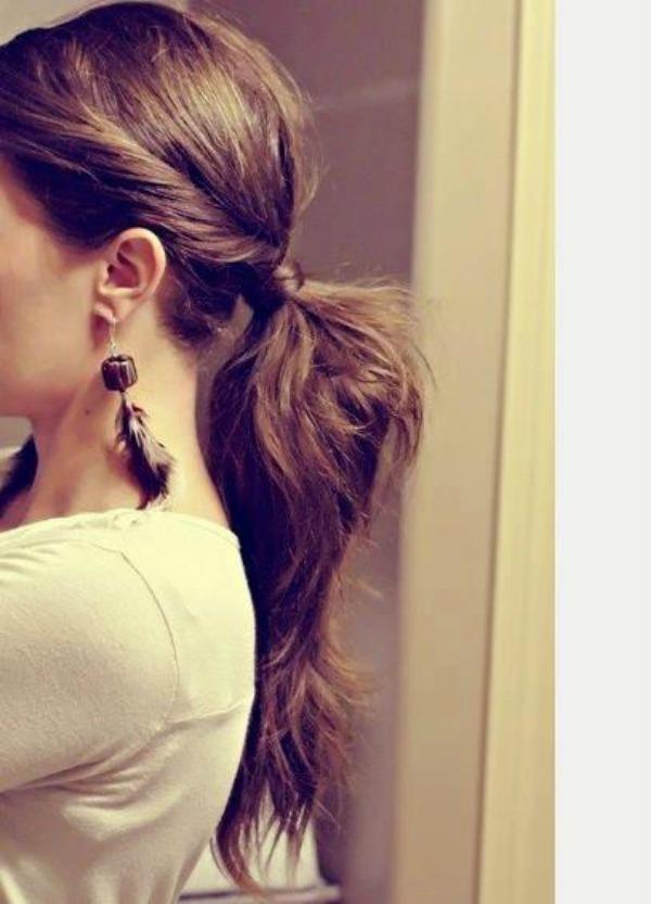 slika 232 Pet jednostavnih frizura za dugu kosu