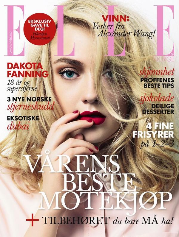"slika 416 Godina kroz naslovnice: ""Elle"""